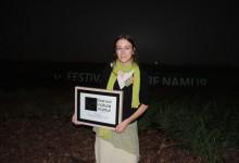 Grand prix du jury au Festival Nature Namur