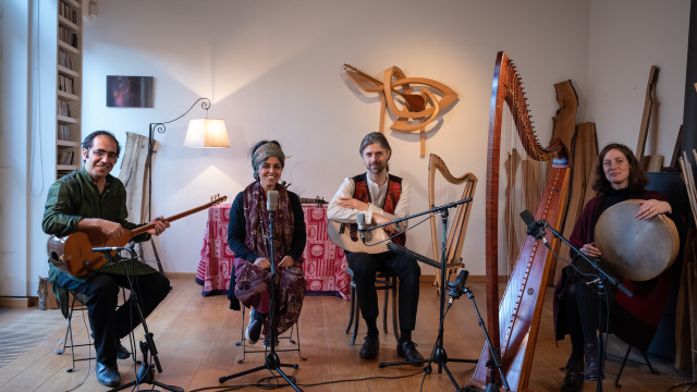 Baul Meets Saz & Friends Live session